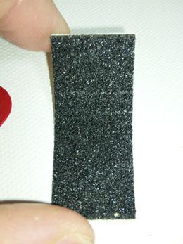 滑り止めテープをこんな感じで使います。