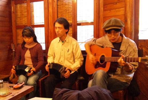 京都ウッドノートでのライブ&セッション