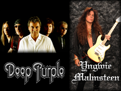 DEEP PURPLE &YNGWIE MALMSTEEN 来日公演