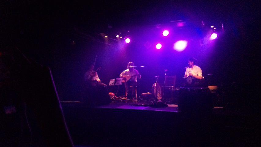 トルコ音楽ライブに行ってきました。
