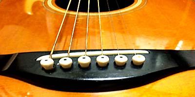 アコースティックギター弦の寿命