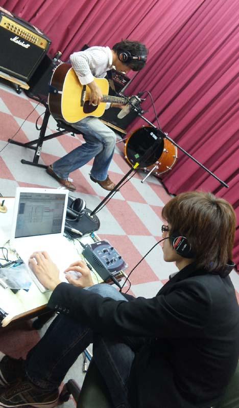 ギター録り