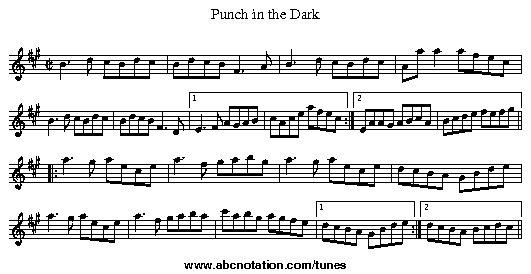 Punch in the Dark