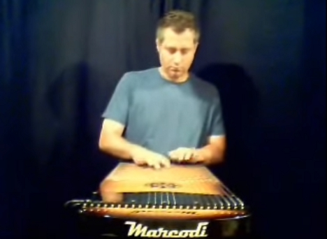 これ流行るかも? 新しい楽器、harpejji