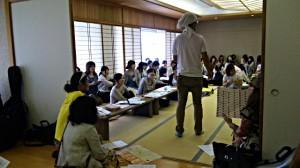 開催前のミーティング