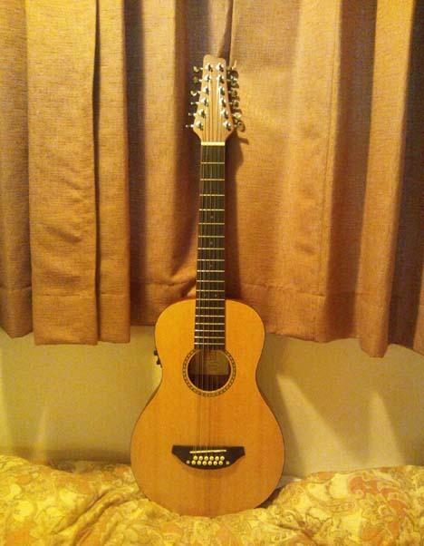 12弦ミニサイズギター