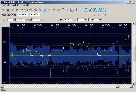 音程補正にかなりの威力を発揮。Vocal Shifter