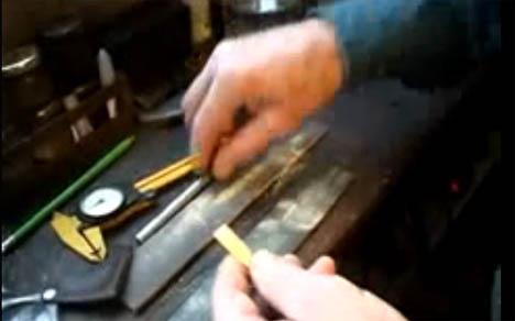 ノーサンブリアンスモールパイプのリード作成動画