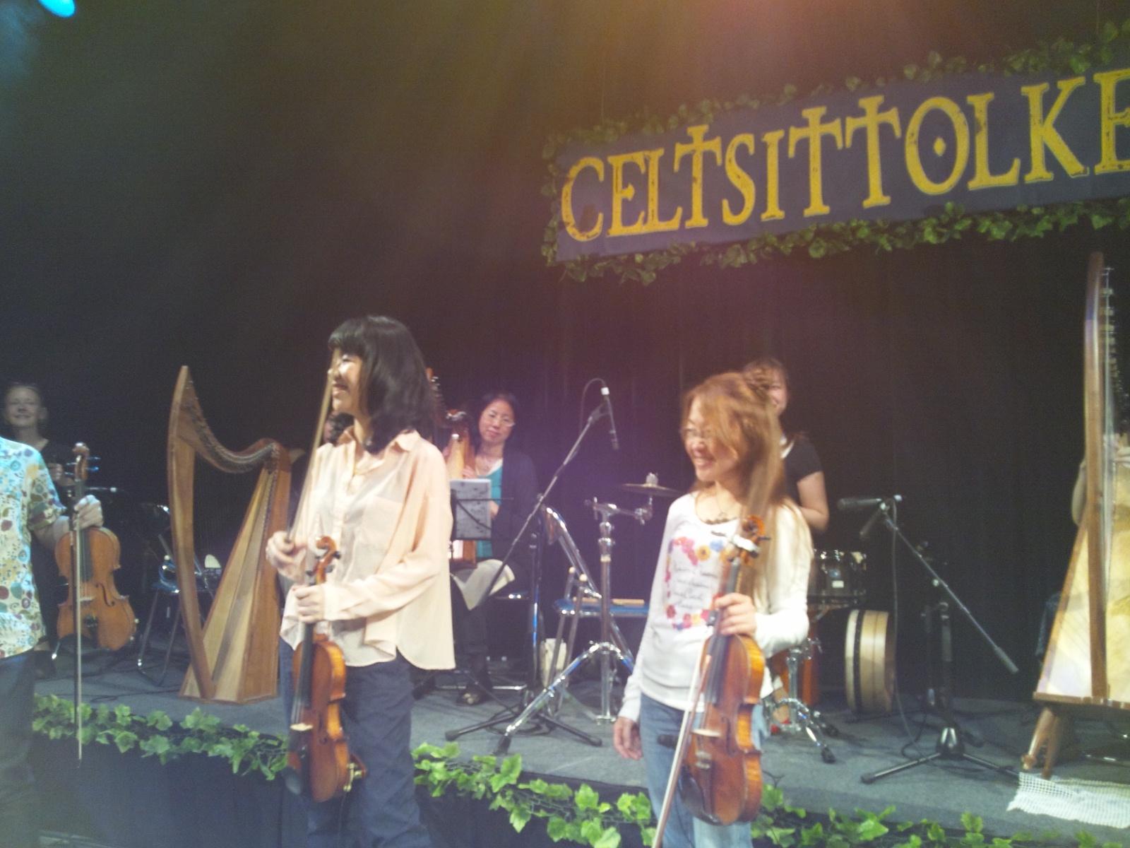 CELTSITTOLKE Vol.3 レコ発ライブ 少し参加させていただきました(^_-)