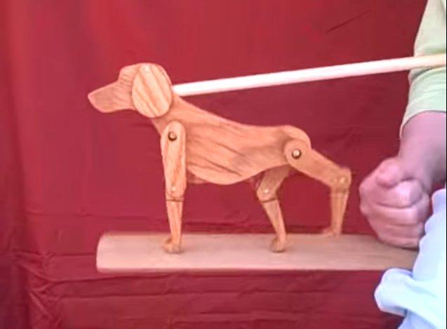 楽器動画:踊る音楽人形、Limberjack(リンバージャック)