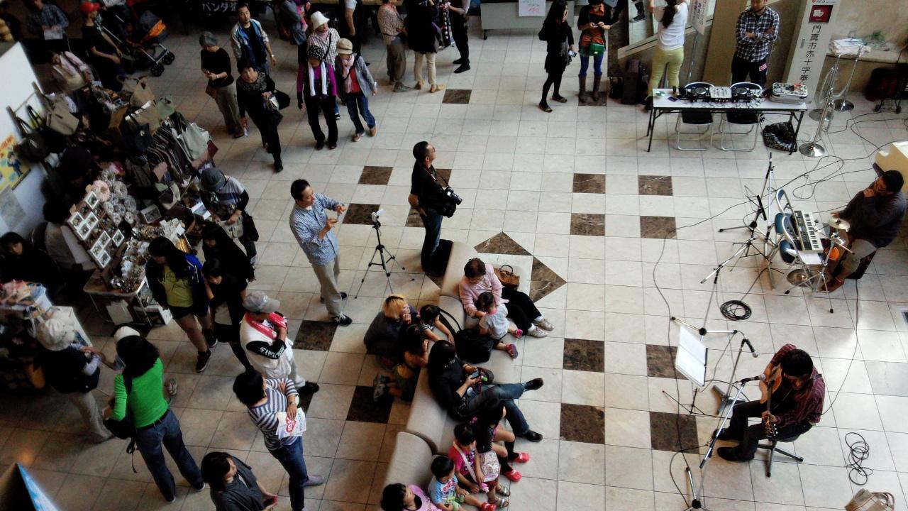 ダイニング旬彩さんのライブはシークレットゲストの登場で大盛り上がり