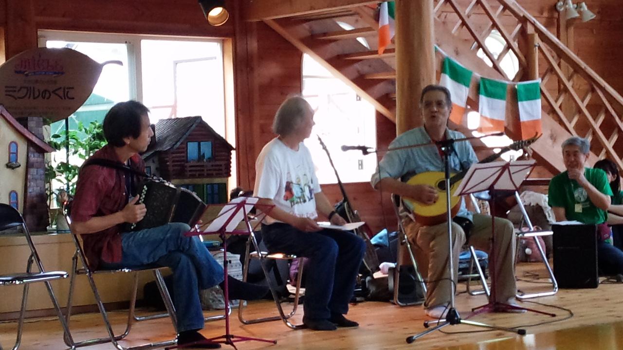 第21回 滋賀県、高島町アイリッシュ・トラディショナル・ミュージック・キャンプ・イン高島 参加してきました。