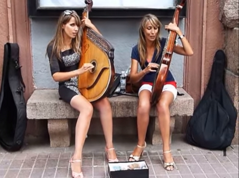 楽器動画:ウクライナのBandura (バンドゥーラ)3