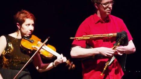 楽器動画:ちんまいバグパイプ、Northumbrian Small Pipes (ノーサンブリアンスモールパイプス)