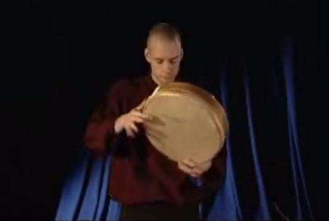 楽器動画:カッコいいフレームドラム(片面太鼓)達