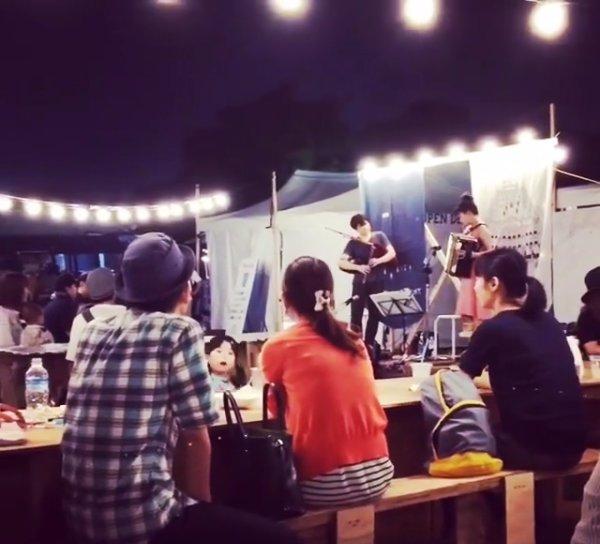 ライブ報告:9/24(土) EIN OPEN DEPERTMENT@鳴尾浜 (アイン・オープン・デパートメント@なるおはま)