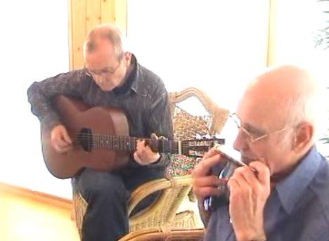楽器動画:ハーモニカでアイリッシュチューン