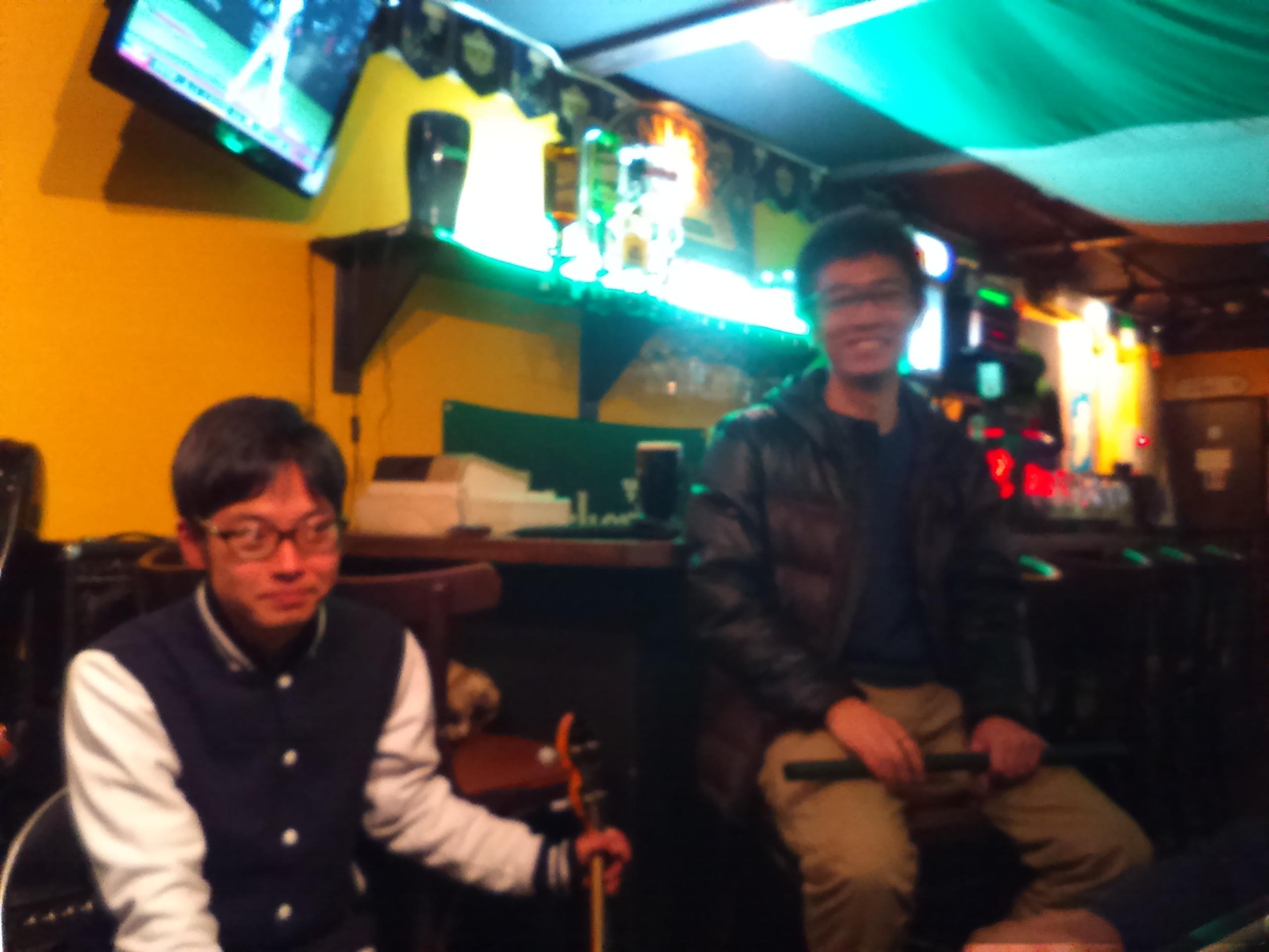 2017/03/08 大阪心斎橋、マーフィーズセッションに参加してきました♪♬