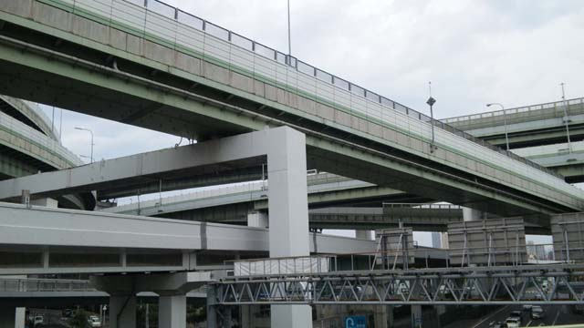 阪神高速のゴチャゴチャ