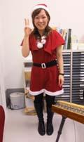今日は病院内クリスマスパーティーにBOFで演奏