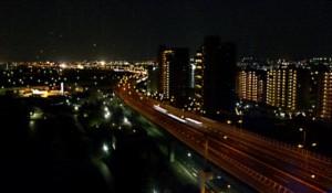 泉大津SAからの夜景1