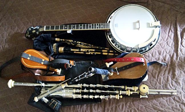 今日は朝から楽器の練習