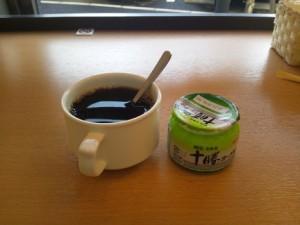 名鉄イン知多半田駅前ホテルの朝食後のコーヒー