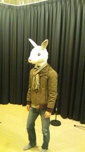 今回登場のウサギさん