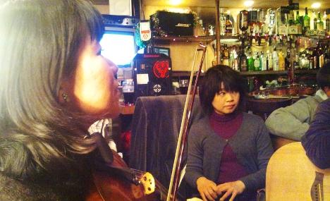 今年最後のセッションは大阪、心斎橋のマーフィーズ