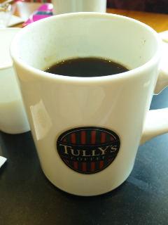 お茶の時間です。TullY'sでお茶タイム。