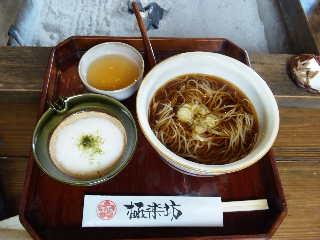戸隠へ-7(昼食)