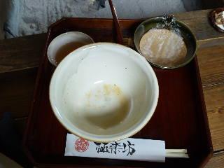 戸隠へ-8(昼食完食)