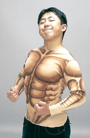 amazon商品 『筋肉マン シャツ』