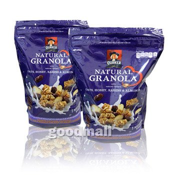 穀物も果実も同時に摂れる栄養バランスが良いと評判のグラノーラが流行り (*^_^*)