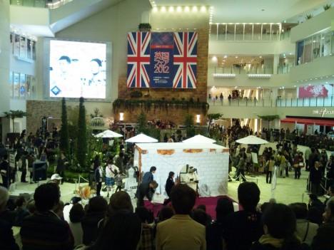 梅田 (うめだ)阪急 英国フェア 2012 に行ってきました